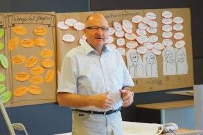 Ergebnispräsentation im Gemeindeamt Yspertal